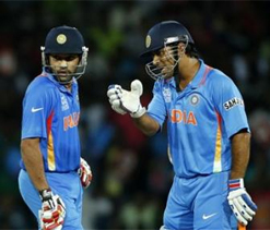 Dhoni feels Rohit Sharma is most god-gifted talent around