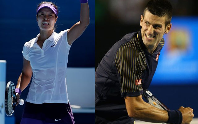 Li Na-Azarenka set up title clash, Djokovic in men`s final