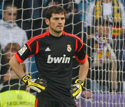 Hand injury to sideline Iker Casillas for weeks