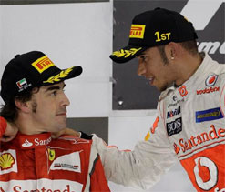 Hamilton keen for 2013 F1 title showdown with Alonso
