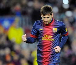 Lionel Messi becomes youngest ever to score 200 La Liga goals