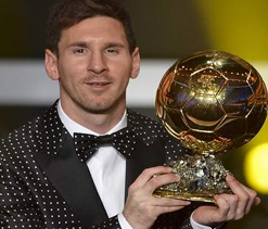 I`m not the finished article yet, insists Messi