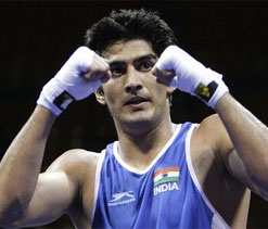 I am training without any goal, says Vijender
