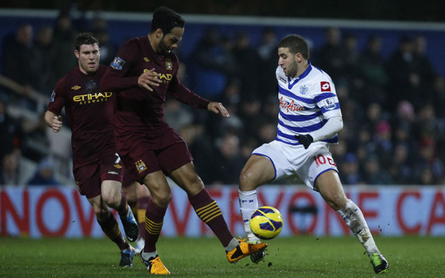 EPL: Manchester City held by QPR at Loftus Road
