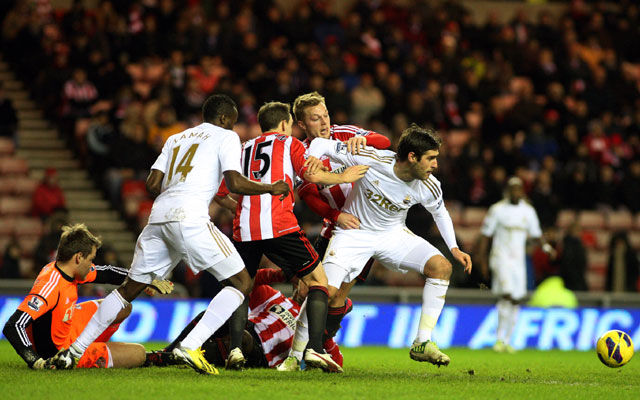 Sunderland hold Swansea at Stadium of Light