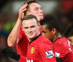 Man U 2-1 Southampton: Rooney fires twice to extend league lead