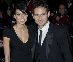 Christine Bleakley's wedding with Frank Lampard `on hold`