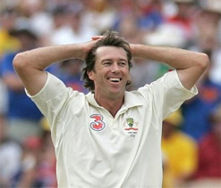 McGrath inducted into ICC Hall of Fame