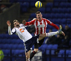 Bolton 2-2 Sunderland: Wickham and Gardner secure a replay for Black Cats