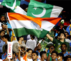 Fans revel in India-Pakistan rivalry