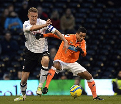 Fulham 1-1 Blackpool: Karagounis keeps Cottagers in the cup