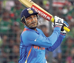 Sehwag axed, Pujara included in ODI squad for England series