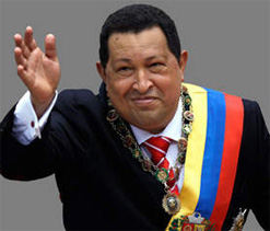 Venezuela`s top athletes pray for Chavez