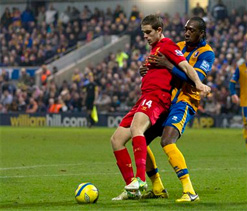 Mansfield 1-2 Liverpool: Sturridge debut goal & controversial Suarez strike edge Reds through in FA Cup