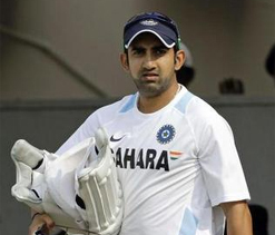 Wary Gambhir bats at Delhi nets ahead of team`s warm-up game