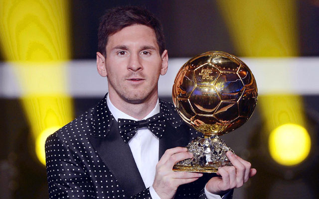 Lionel Messi bags FIFA Ballon d`Or for record fourth time