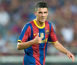 David Villa won't be sold this season, says Rosell