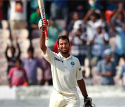 Pujara slams another double ton; Saurashtra set to enter semis