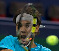 Rafael Nadal beats Alexandr Dolgopolov in Shanghai Masters