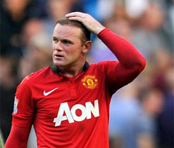 Rooney says `being made to play in midfield` caused rift with Ferguson
