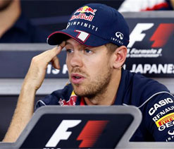 Red Bull chief says team not expecting Vettel to win Japanese Grand Prix