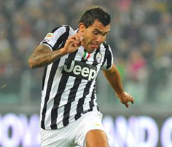 Carlos Tevez urges Vidic to quit Man Utd for Juventus