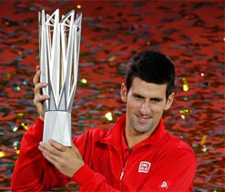 Novak Djokovic masters Juan Martin del Potro to defend in Shanghai