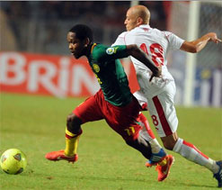 FIFA World Cup playoff: Cameroon have keeper to thank for forcing draw in Tunisia