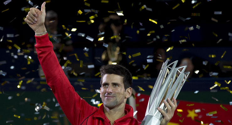 Novak Djokovic gives perfect reply to rankings fall