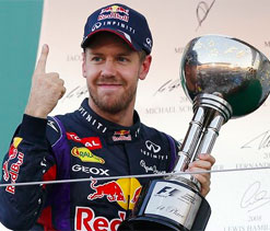 Vettel insists `thrill of racing` spurs him more to win F1 titles