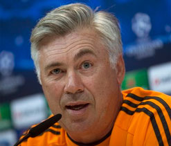 Real Madrid`s Ancelotti hoping for reaction from players