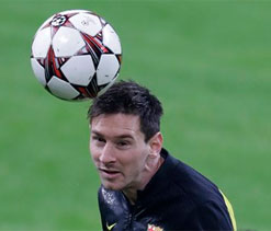 Lionel Messi good for Brazil`s World Cup-organisers