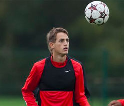 United teenager Januzaj ready for European stage