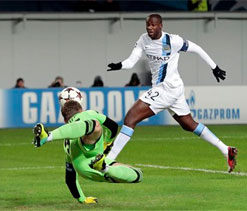 Manchester City`s Yaya Toure subjected to monkey taunts in Moscow