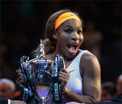 Serena Williams predicts even better years to come