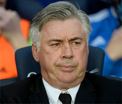 Ancelotti ticks off Blatter for comment on C. Ronaldo