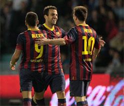 Cesc Fabregas enjoying senior role as derby looms