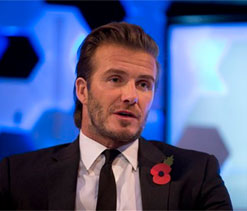 David Beckham coy on MLS franchise choice