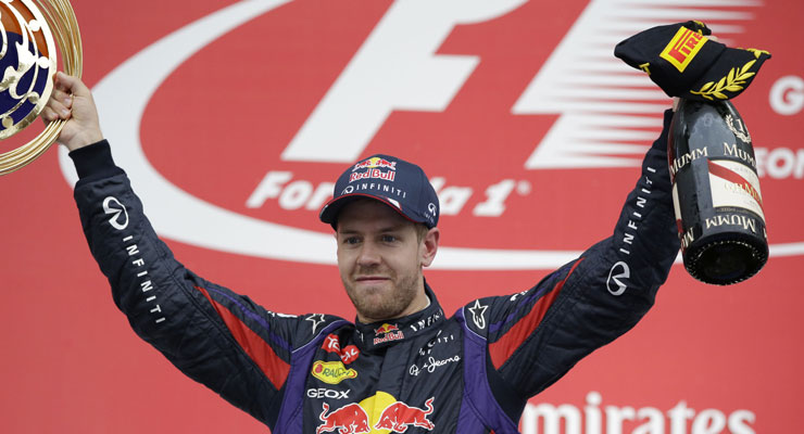 Sebastian Vettel wins Korean GP, closes on world title