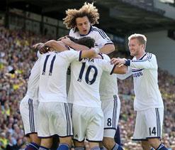 English Premier League: Hazard, Willian send Chelsea third
