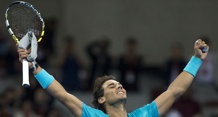 Rafael Nadal rises to world no.1, Roger Federer drops