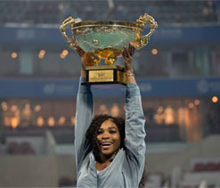 World No.1 Serena Williams says she is `beatable`