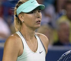 Injured Sharapova out of WTA Championship