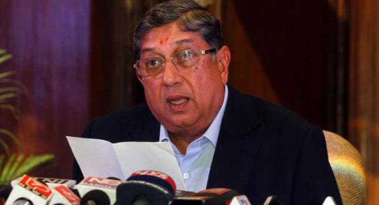 SC allows N Srinivasan to take charge as BCCI president