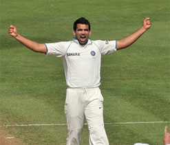 Despite Zaheer`s early blow, WI A steady at 175 for 3 at tea