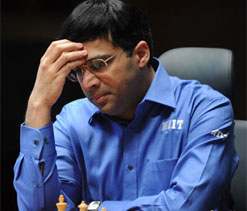 Viswanathan Anand loses again, trails 2-4 in World Chess Championship