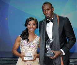 Usain Bolt and Shelly-Ann Fraser-Pryce win 2013 World Athlete awards