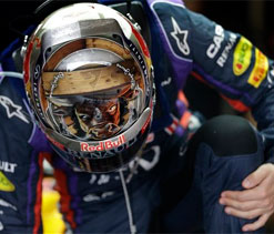 US Grand Prix: Sebastian Vettel on pole for what could be a record win