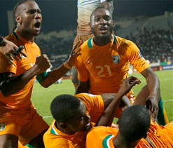 Ivory Coast get past Senegal to reach World Cup