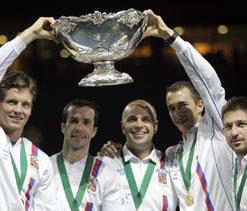 Czech Republic beat Serbia to retain Davis Cup